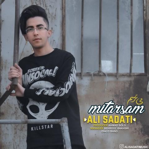 دانلود موزیک جدید علی ساداتی میترسم