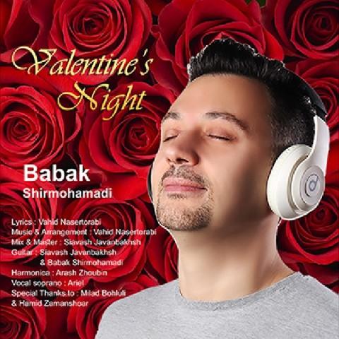 دانلود موزیک جدید بابک شیرمحمدی شب ولنتاین