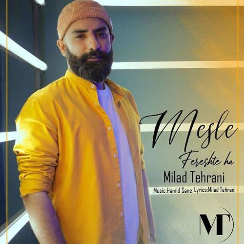 دانلود موزیک جدید میلاد تهرانی مثل فرشته ها