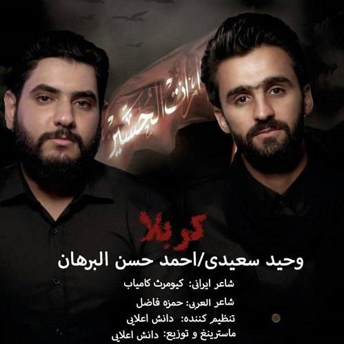 دانلود موزیک جدید وحید سعیدی و احمد حسن البرهان کربلا